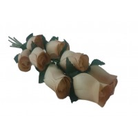 100 Autumn Harvest Wooden Roses