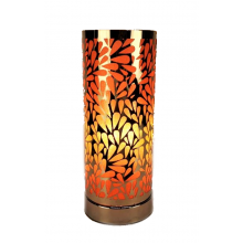Touch Control Aroma Lamp - Amber Abstract