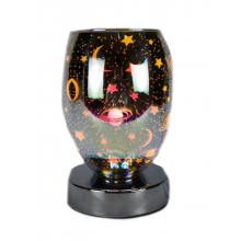 Moon & Star 3D Oval Touch Wax Burner