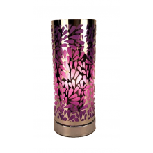 Touch Control Aroma Lamp - Purple Abstract