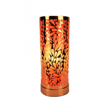 Touch Control Aroma Lamp - Rose Gold Amber Abstract
