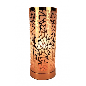 Touch Control Aroma Lamp - Rose Gold White Abstract