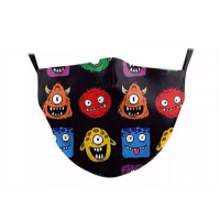 Children's Face Mask - Aliens