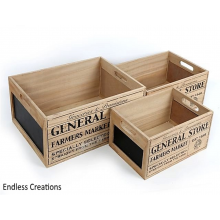 General Store - Chalk Crates