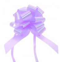Lilac - Pull Bows - Pack of 30 x 30mm