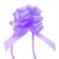 Purple - Pull Bows - Pack of 30 x 30mm