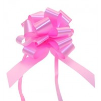 Pink - Pull Bows - Pack of 30 x 30mm
