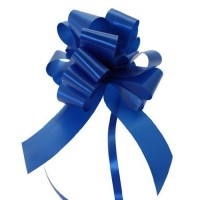 Royal Blue - Pull Bows - Pack of 30 x 30mm