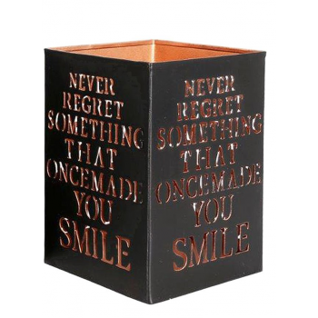 Never Regret - Candle Holder Medium