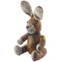 Rabbit Faux Leather Door Stop