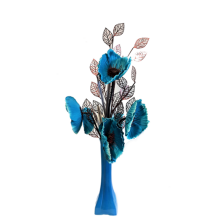 50cm Poppy Display - Teal