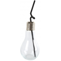 Set of 4 Glass Bulb Jar