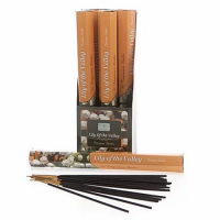Sense Aroma 6 x 20 Fragrance Incense Sticks - Lily of the Valley