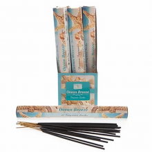 Sense Aroma 6 x 20 Fragrance Incense Sticks - Ocean Breeze
