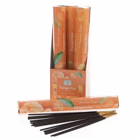 Sense Aroma 6 x 20 Fragrance Incense Sticks - Tangerine