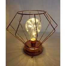 LED Cage Light - Copper
