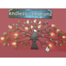 4 x Led Tree - Metal Wall Art - Wholesale