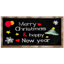 Merry Christmas Greeting Frame