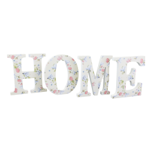 Home Sign Wooden Letters