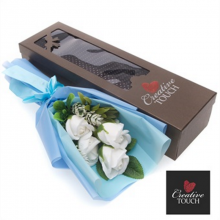 Creative Touch - White Soap Flower Boxed Set