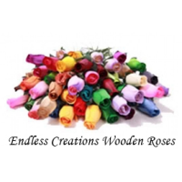 250 Lucky Dip Mix  Wooden Roses