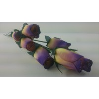 100 Nightshade Wooden Roses