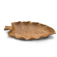 Teak Root Leaf Dish