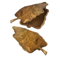 Teak Root Leaf Box