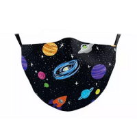 Children's Face Mask - Black Hole