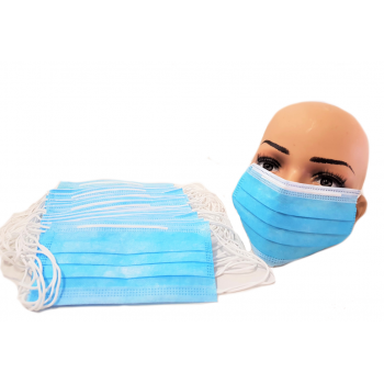 200 Disposable 3 Layer Face Masks