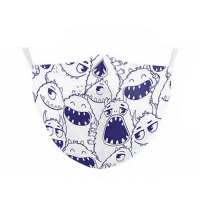 Children's Face Mask - Monsters