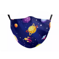 Children's Face Mask - Saturn