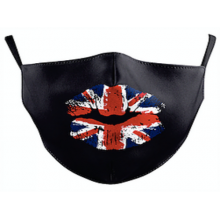 Union Jack Lips Face Mask and one filter